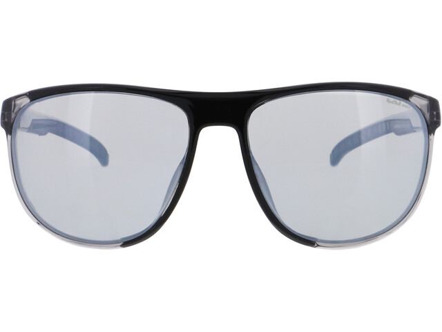 Red Bull SPECT Slide Gafas de Sol, x'tal grey/smoke with silver flash polarized